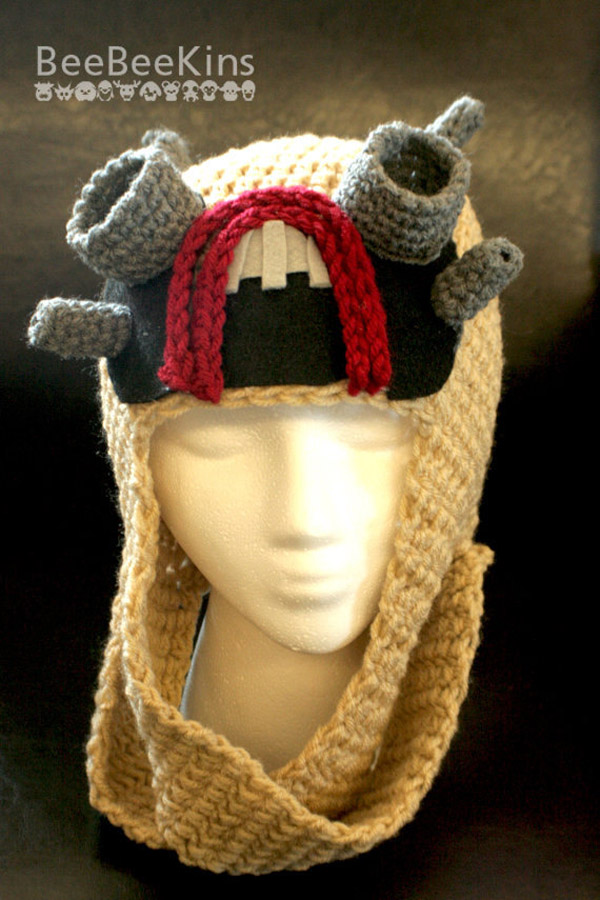 Tusken Raider Knitted Hat Geekimperative